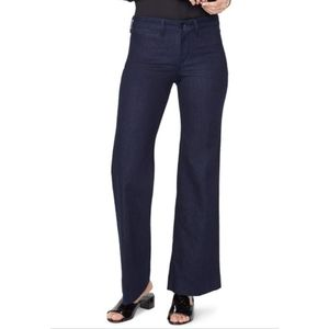 NYDJ Teresa Dark Wash Flare Leg Jeans 4